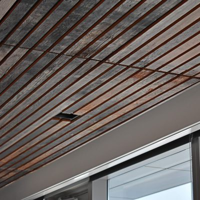 9Wood 2200 Lay-In Linear at Stoel Rives, Portland, Oregon. ZGF Architects.