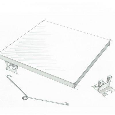 9Wood 4400 Torsion Spring Tile Sketch.