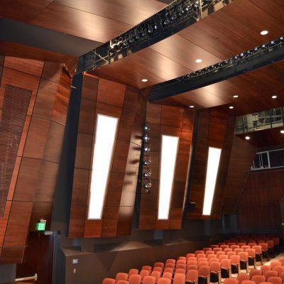 9Wood 4500 XL Channel Tile at LA Harbor College, Wilmington, California. IBI Group.