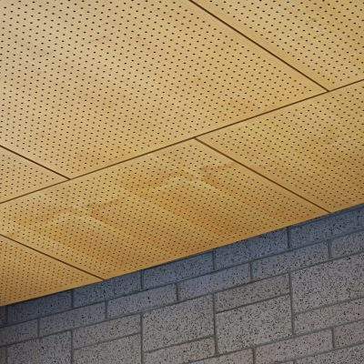 9Wood 5100 Parallel Perf Tile at 10 Coburg Rd., Eugene, Oregon. TBG Architects & Planners.