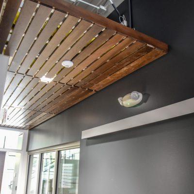9Wood 2100 Panelized Linear at Linn-Benton Community College Mechatronics, Albany, Oregon. Pivot Architecture.
