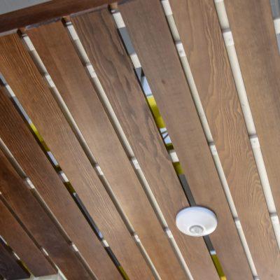 3100, 9Wood 2100 Panelized Linear at Linn-Benton Community College Mechatronics, Albany, Oregon. Pivot Architecture.
