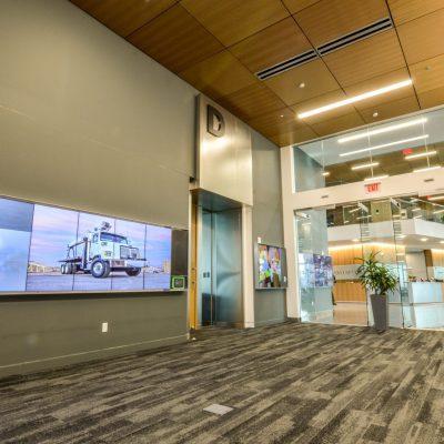 9Wood 3200 Acoustic Tile at Daimler Nova, Portland, Oregon. Ankrom Moisan.