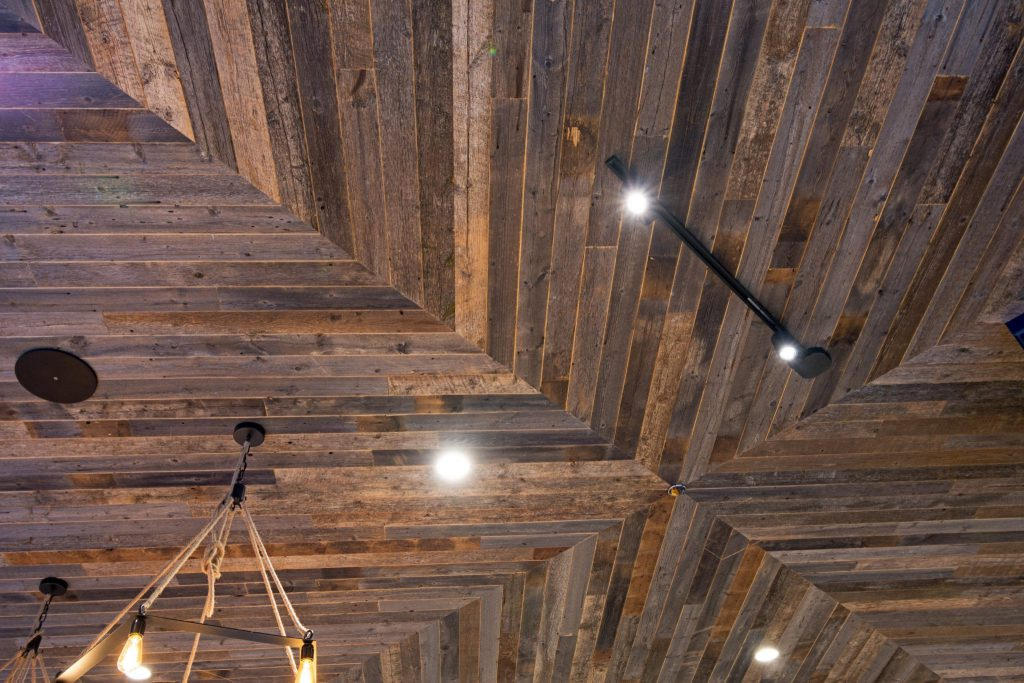 RECLAIMED AMERICAN PRAIRIE WITH CLEAR FINISH