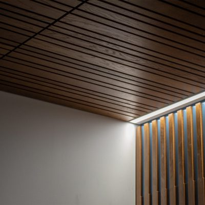 9Wood 2100 Panelized Linear at Tykeson Hall, Eugene, Oregon. Rowell Brokaw.