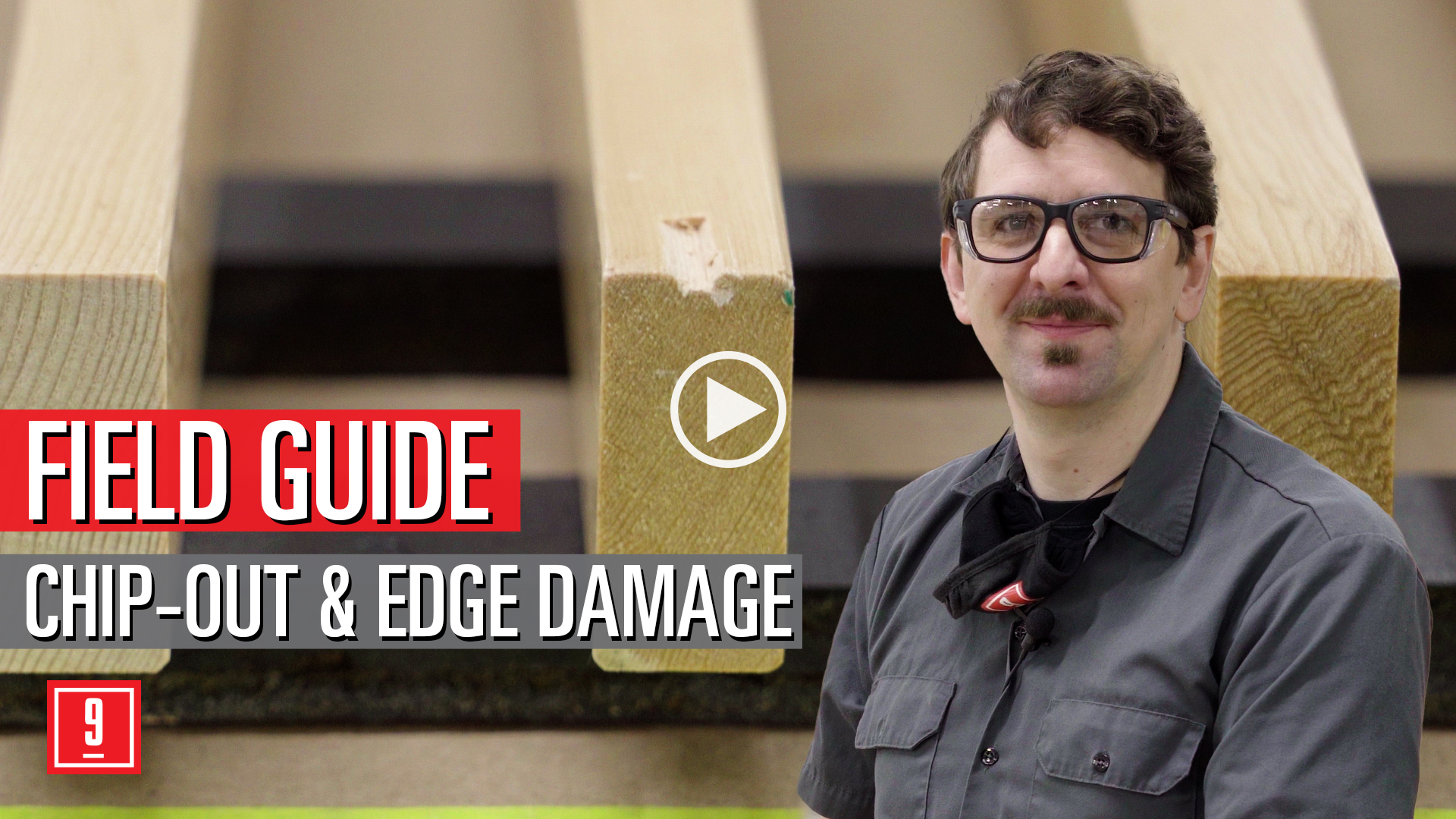 Chip-Out Edge Damage - field guide