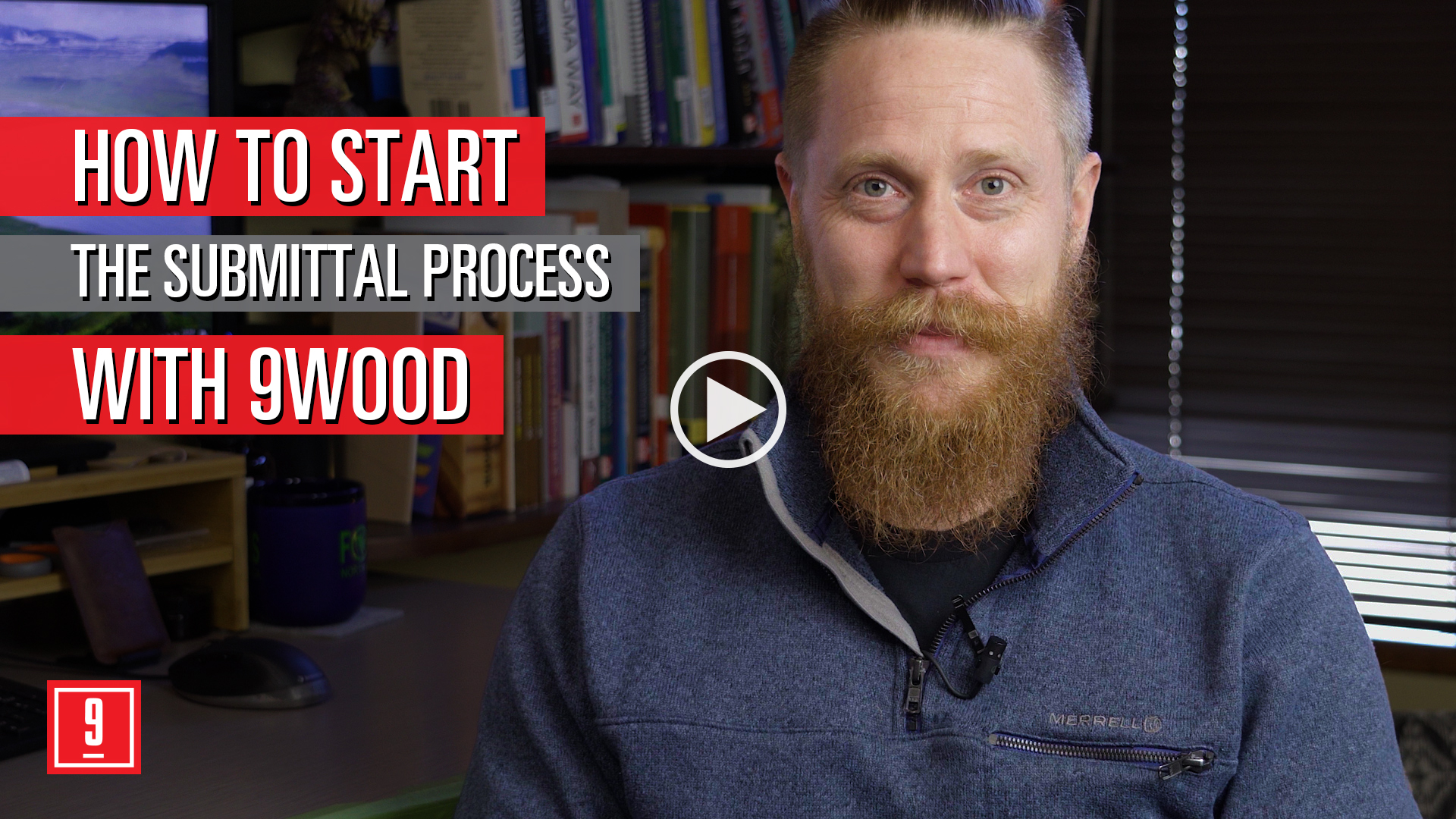 How to start the submittal process with 9Wood