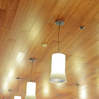 9Wood 2600 Flush Joint Linear at Power Toyota, Tempe, Arizona. YSM Design.