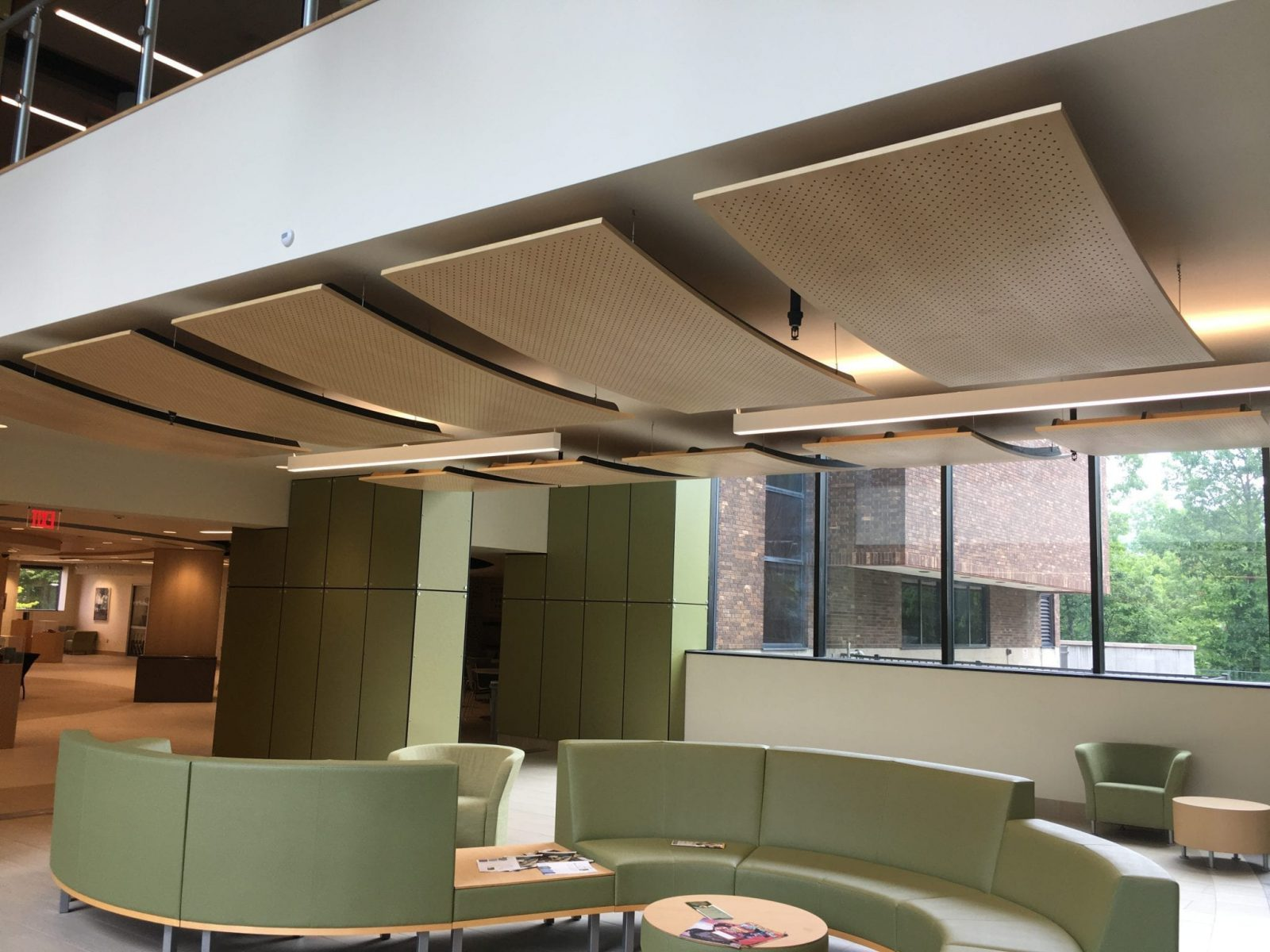 Onandago Community College - Coulter Library - 9Wood