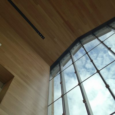 9Wood 3100 Acoustic Plank at Parkland College, Champaign, Illinois. Perkins + Will.
