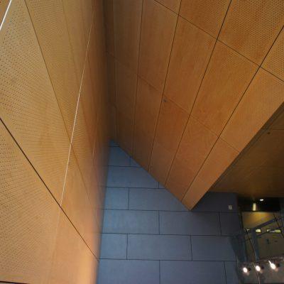 9Wood 5300 Diamond Perf Tile at SF Federal Office Building, San Francisco, California. Morphosis.