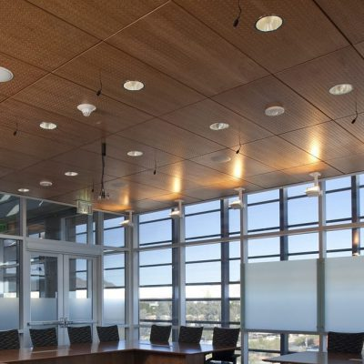 9Wood 5100 Parallel Perf Tile at Blue Cross Blue Shield, Phoenix, Arizona. Orcutt | Wiinslow.