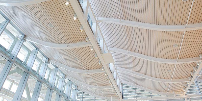 9Wood 2100 Panelized Linear at Newport Beach Civic Center, Newport Beach, California. Bohlin Cywinski Jackson.
