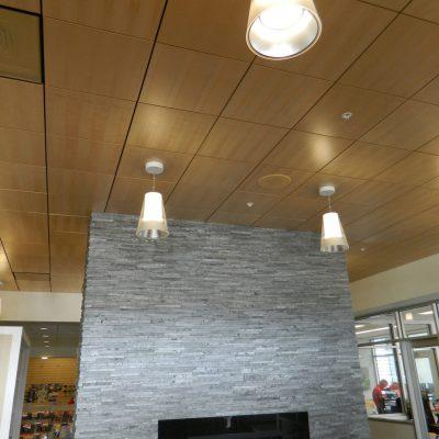 9Wood 4300 Lift & Lock Tile at Capitol Toyota, Salem, Oregon. Deca Architects.