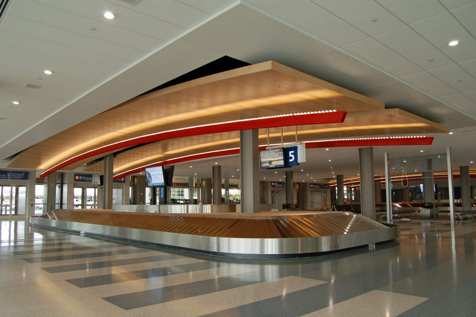 Sacramento International Airport Landside Terminal 9wood