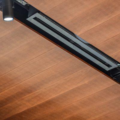 9Wood 3100 Acoustic Plank at Kona Coffee Purveyors - International Marketplace, Honolulu, Hawaii. WORKSHOP-HI.