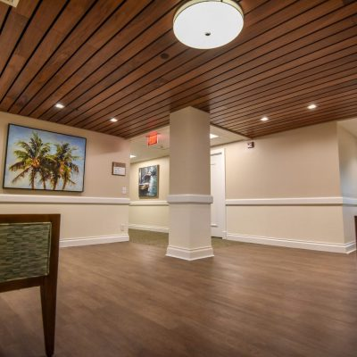 9Wood 2300 Continuous Linear at Village on the Isle - Matthew Hall, Venice, Florida. Wegman Design Group.