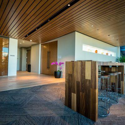 9Wood 2300 Continuous Linear at Civica Cherry Creek, Denver, Colorado. Davis Partnership Architects.