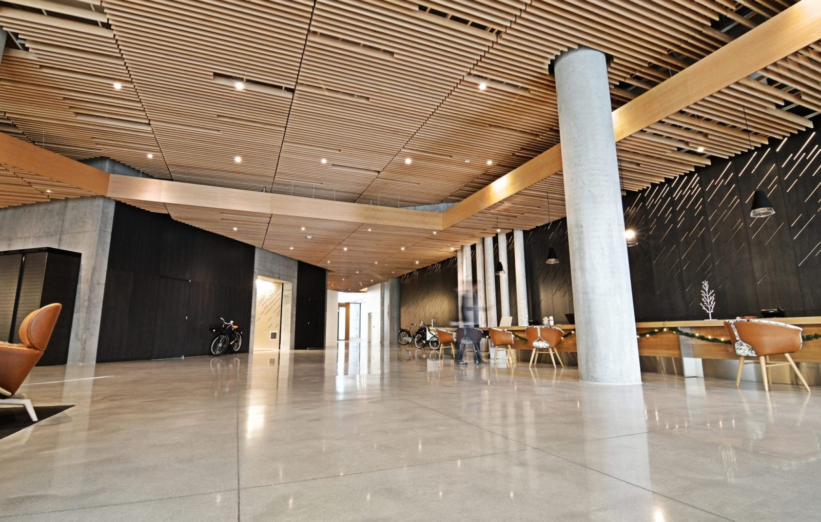 http://Wood%20grille%20ceiling%20for%20high%20end%20apartment%20building%20lobby
