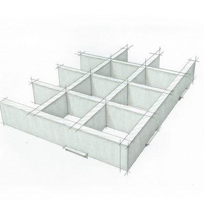 9Wood 6100 Modular Cube Sketch.