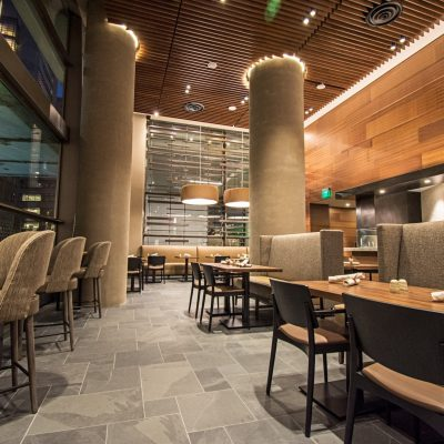 9Wood's 2300 Continuous Linear at the Hyatt Regency Seattle in Seattle, Washington. LMN Architects.