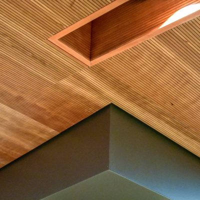 9Wood 3100 Acoustic Plank at Starbucks Conference Center, Seattle, Washington. DLR Group.