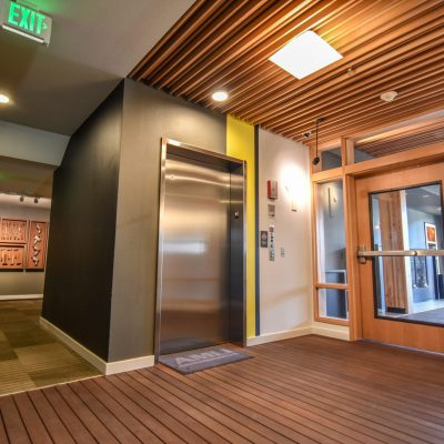 9Wood 1100 Cross Piece Grille at AMLI Wallingford, Seattle, Washington. GGLO.