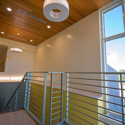 9Wood 2700 Kerf Reveal Linear at Joe Shoemaker Elementary School, Denver, Colorado. AndersonMasonDale Architects.