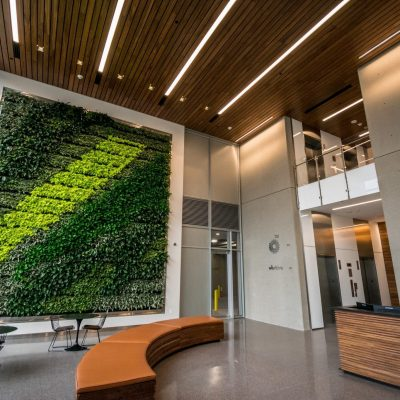 9Wood 2300 Continuous Linear at BPX Energy, Denver, Colorado. Tryba Architects.