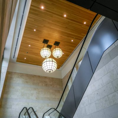 9Wood 2400 T & G Linear at City Creek Center Blocks 75 & 76, Salt Lake City, Utah. Hobbs + Black Architects, Ann Arbor, Michigan.