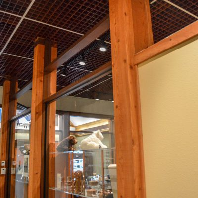 9Wood 6100 Modular Cube at the University of Oregon Museum of Natural and Cultural History. Robertson Sherwood Architects.
