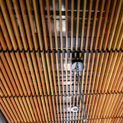 9Wood 1300 Lay-In Grille at the Ninkasi Administration Building, Eugene, Oregon. Kurt Albrecht, AIA.