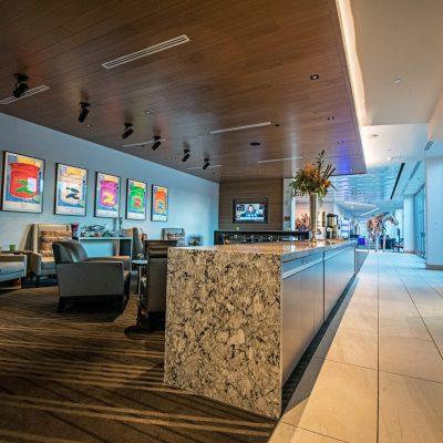 9Wood 2600 Flush Joint Linear at The ART, a Hotel, Denver, Colorado. Davis Partnership Architects.