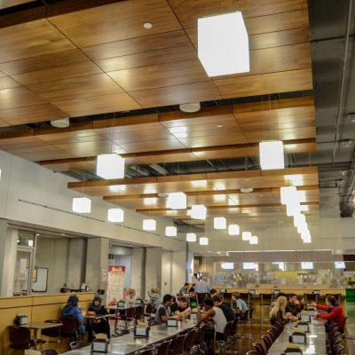 9Wood 4600 Exposed Fastener at Arizona State University Student Dining, Phoenix, Arizona. SmithGroup.