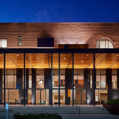 2100 Panelized Linear at the University of Texas Rio Grande Valley Performing Arts Center. Page Southerland Page. Photo: Dror Baldinger.