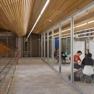 2100 Panelized Linear at the Gates Dell Complex, Austin, Texas.  Pelli Clarke Pelli. Photo: Alex Wang.