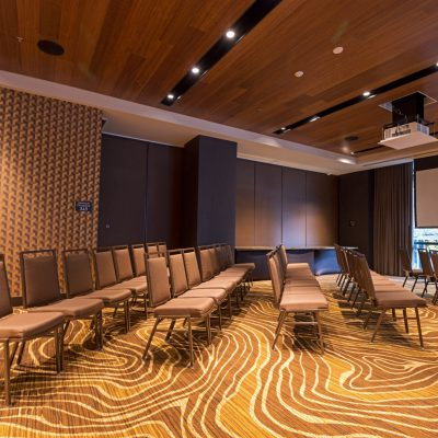 9Wood 3100 Acoustic Plank at the Porter Hotel, Portland, Oregon.  HC Architecture.