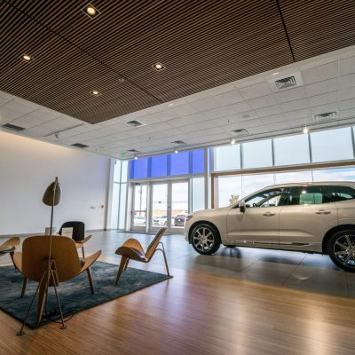 9Wood 1100 Cross Piece Grille at the Sill-Terhar Volvo, Broomfield, Colorado. Allred & Associates.