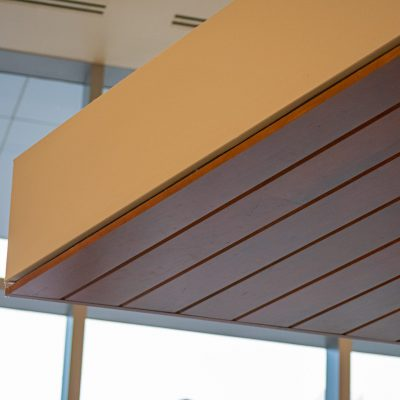 9Wood 2300 Continuous Linear at the DaVita Headquarters, Denver, Colorado. MOA Architecture.