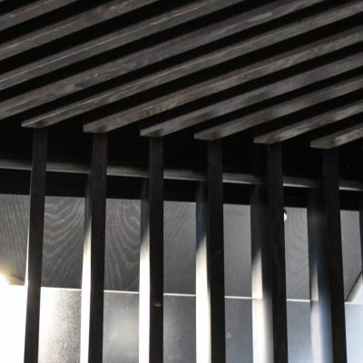 1100 Cross Piece Grille at the Gershman Wilshire Extension, Los Angeles, California. Rania Alomar Design & Architecture.