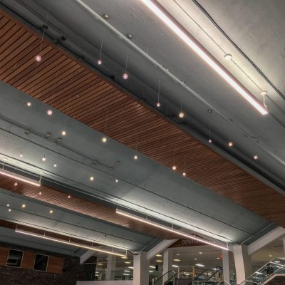 2100 Panelized Linear at the Syracuse Hancock International Airport, Syracuse, New York. Gensler.