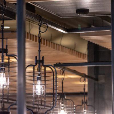 1100 Cross Piece Grille at Din Tai Fung Washington Square, Tigard, Oregon. Chin-Ley/Reche.
