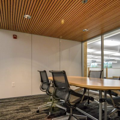 9Wood 2100 Panelized Linear at the Roseburg Forest Products office, Springfield, Oregon. Rowell Brokaw.