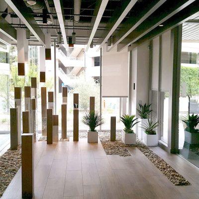 9Wood 0100 Trim at the Amare office, Irvine, California. IA Interior Architects.