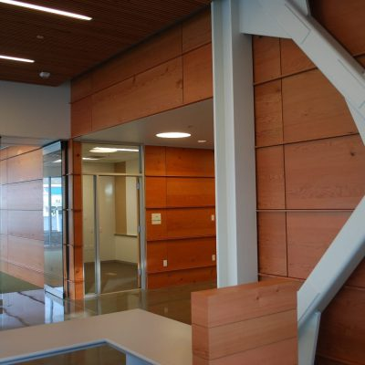 9Wood 2400 T & G Linear at Urban Waters, Tacoma, WA. Perkins + Will.
