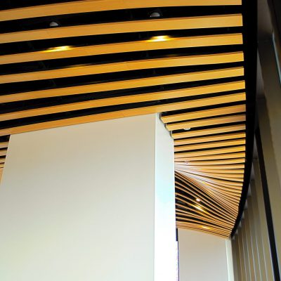 9Wood 0500 Box Beam at the Pierce College Performing Arts Center, Los Angeles, CA. Steinberg Architects.