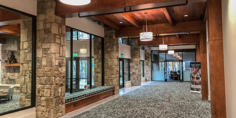commercial types of ceilings have many options including wood ceilings. This article explores types of ceilings available to a designer or architect