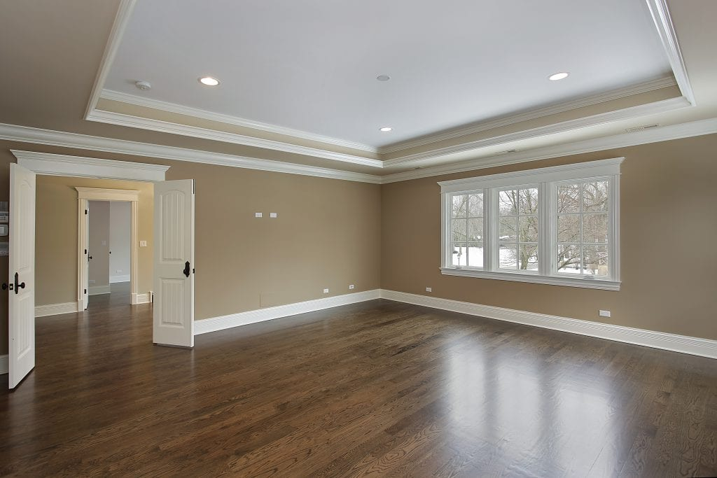 tray ceilings can be wood ceilings. they are good strategies for passive solar in your home or office space.