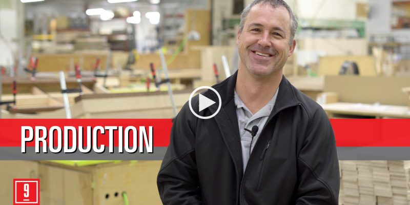 Dave Gibson, a production manager at 9Wood, shares a day in the life from values to on-time performance.