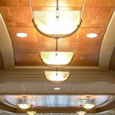 9Wood 4100 Tegular Tile at St John Medical Center Tower, Longview, Washington. PKA Architects.